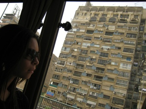 Driving Through Downtown Cairo